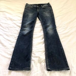 Silver Jeans Co Suki Low Boot Cut Size 29